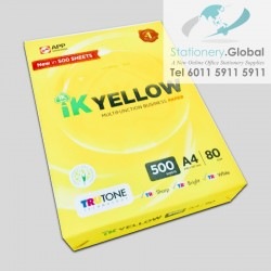 IK Yellow Paper A4 80gsm...