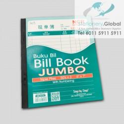 """SBS Jumbo Bill Book 6"""" x 7"""""""